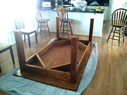 build your own farmhouse table build your own kitchen table build build wooden folding table legs