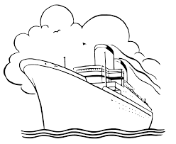 cruise ship black and white clipart clipartfox cliparting com