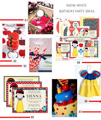 snow white birthday party u2013 baers garten designs