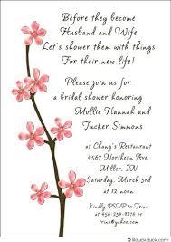 bridal shower wording best wedding shower invitations bridal party invitations wording