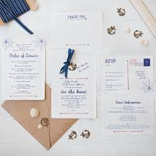 cheap wedding invitations packs nautical diy wedding invitation pack by wedding in a teacup