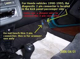 honda check engine light check engine light codes honda 1990 1995 obd1 code retrieval