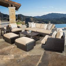 Agio 7 Piece Patio Dining Set - seating sets costco