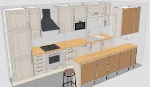 kitchen impressive galley kitchen plans new cabinets floor