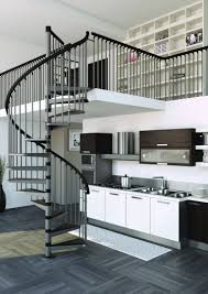 metal spiral staircase type