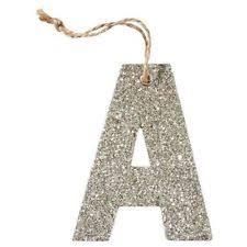 letter ornaments ebay