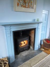 warmth from the wood burner much more with less