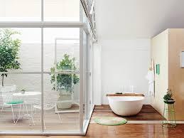 bathroom classic bathroom cabinets blue tile white walls vessel