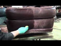 Refurbish Leather Sofa Staining A Leather For The Home Pinterest Leather