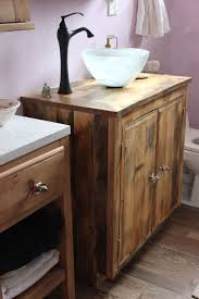 Reclaimed Wood Vanity Table Makeover Your Reclaimed Wood Bathroom Vanity Designs Ideas Free