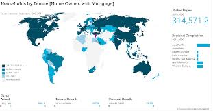 Algeria World Map Top 3 Mortgage Growth Markets In 2017 Egypt Algeria And Nigeria