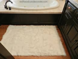 affordable faux sheep skin area rug redhead can decorate