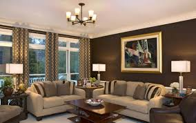 Formal Living Room Ideas Chocolate Brown Accent Wall Color For Formal Living Room Ideas