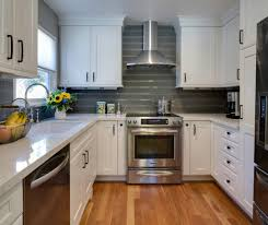 Subway Tiles Kitchen by Gray Subway Tile Backsplash Kitchen Traditional With Emeco Bar