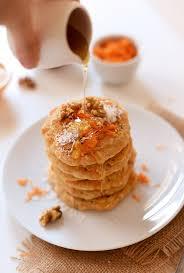 vegan carrot coconut pancakes minimalist baker recipes