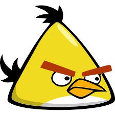 angry bird yellow icon angry birds iconset femfoyou