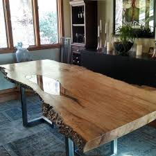Custom Made Dining Room Furniture 69 Best Live Edge Wood Images On Pinterest Furniture Wood
