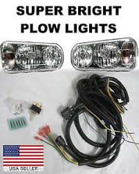 fisher plow lights ebay