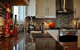 kitchen countertop tiles ideas kitchen stunning kitchen with coffee brown granite countertop
