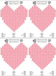 free printable heart shaped valentine u0027s day word search for kids
