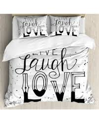 What Size Is King Size Duvet Cover Don U0027t Miss This Bargain Live Laugh Love Decor King Size Duvet
