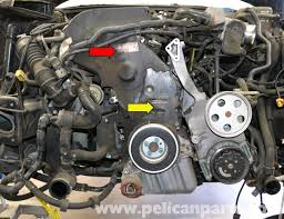 audi a4 b6 water pump replacement 1 8t 2002 2008 pelican parts