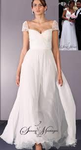 robe mariã e fluide robe de mariée bohème ou empire en mousseline mariage