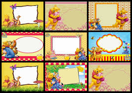 caillou birthday invitations winnie the pooh party free printable invitations is it for