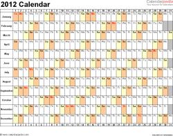 2012 calendar word 10 free printable word templates docx