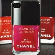 chanel vernis nail polish case for iphone 6 and 6plus fashion