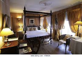Poster Bed Curtains Four Poster Bed With Curtains Stock Photos Four Poster Bed With