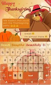 Thanksgiving Emoticons Free Thanksgiving Go Keyboard Theme Android Apps On Google Play