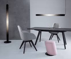 slant stool black base furniture tom dixon