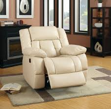 Leather Reclining Sofa Set by Reclining Sofa Cm6827 In Ivory Leather Match W Options