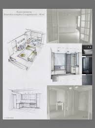 floor plan with perspective house conception graphique planches tendances plans perspectives