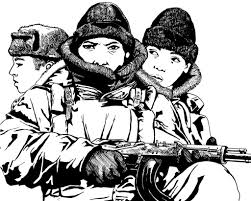 russian soldiers this is a redrawing of a drawing a did ab u2026 flickr