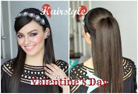 hairstyles for foreheads that stick out on a woman valentine s day hairstyle hairstyle for stick straight hair by