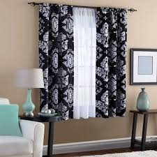 Black Grey And White Curtains Ideas Appealing Black And White Vertical Striped Shower Curtain U Ideas