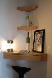 Wooden Box Shelves by 9084610 Profile Espresso Floating Corner Shelf Oak Wall Shelving