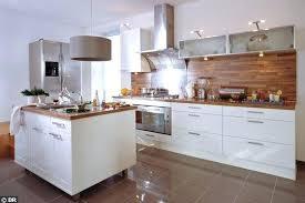 cuisine blanc et cuisine blanche bois cethosia me