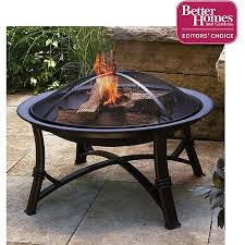 walmart outdoor fireplace table better homes and gardens 30 fire pit walmart com