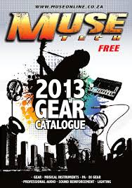 muse 2013 gear catalogue by muse mag issuu