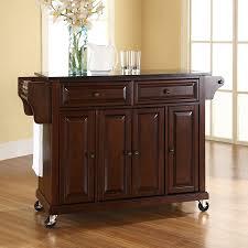 lowes kitchen islands shop crosley furniture brown craftsman kitchen island at lowes com