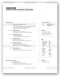 Classy Resume Templates 25 Modern And Professional Resume Templates Ginva