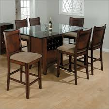 carlsbad rectangle glass top table with 16 bottle wine storage by