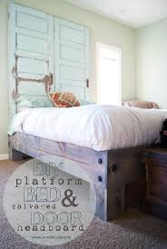 How To Build A Simple King Size Platform Bed by Best 25 Diy Platform Bed Frame Ideas Only On Pinterest Diy