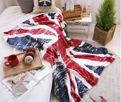 Fleece Throws For Sofas Vintage British Flag England Union Jack Sofa Bed Fleece Throw