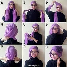 tutorial hijab segi empat paris simple 22 model hijab segi empat simple 2017 untuk ke kantor fashion
