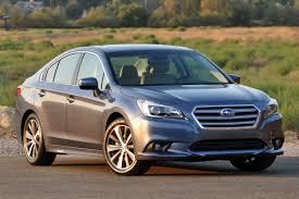 burgundy subaru legacy 10 safest new family cars for under 25 000 autoweb