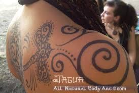 jagua all natural body art temporary blue black tattoos san